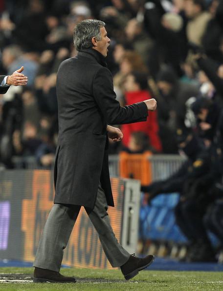 Jose Mourinho during game against Sevilla in La Liga